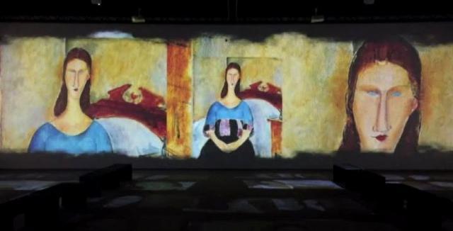 """Modigliani Experience, Les Femmes"""