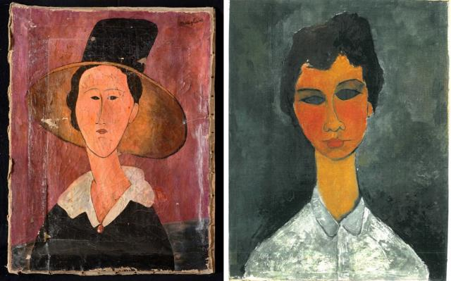 I ritratti di Jeanne e Hannalore di Amedeo Modigliani