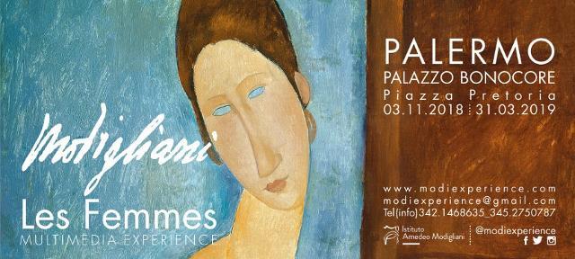 Le donne e gli amici di Amedeo Modigliani a Palermo