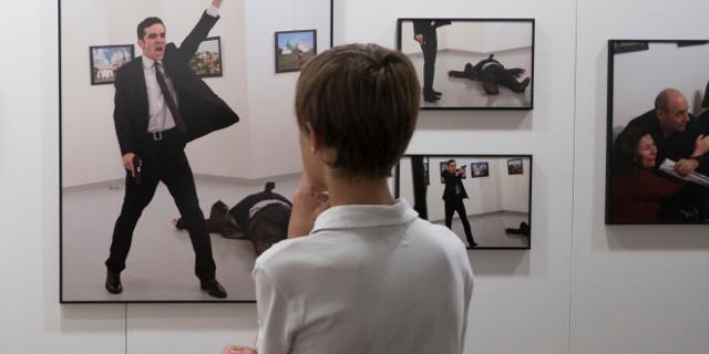 Le foto di Burhan Ozbilici in mostra a Palermo