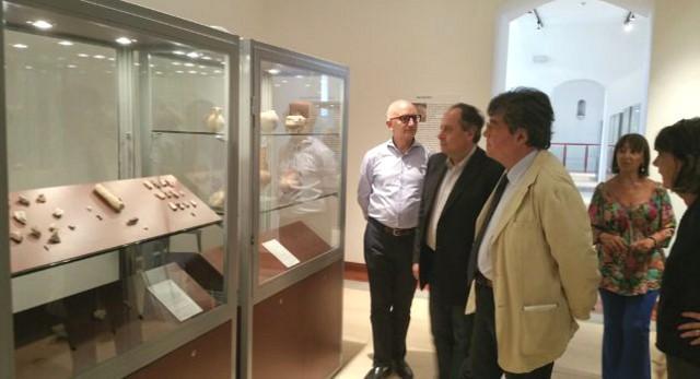L'Assessore ai Beni Culturali, Sebastiano Tusa, in visita al Museo Regionale della Ceramica di Caltagirone