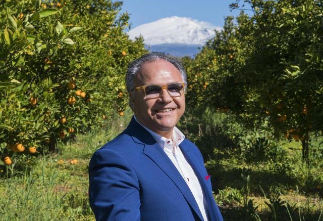 Nello Alba, CEO dell'azienda Oranfrizer di Scordia (CT)
