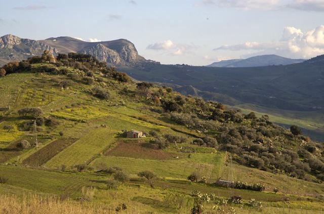 I paesaggi vicino Baucina