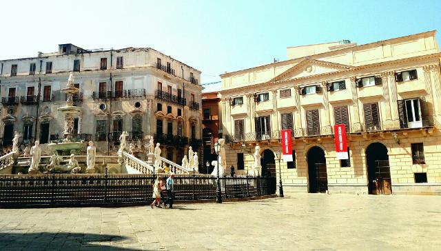 Palazzo Bonocore, piazza Pretoria, Palermo