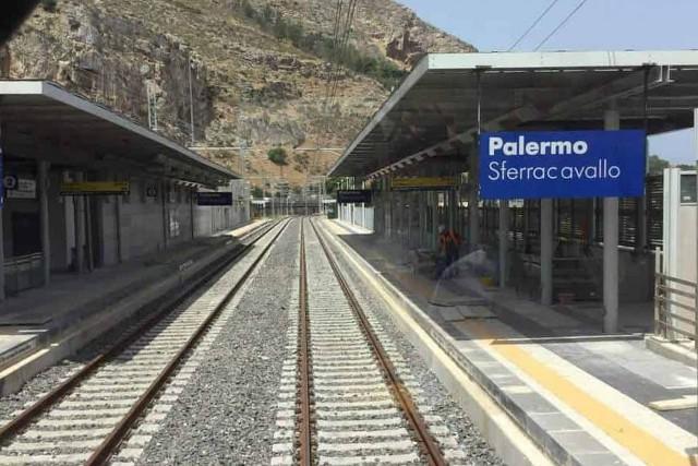Nuova fermata Sferracavallo - Passante ferroviario di Palermo