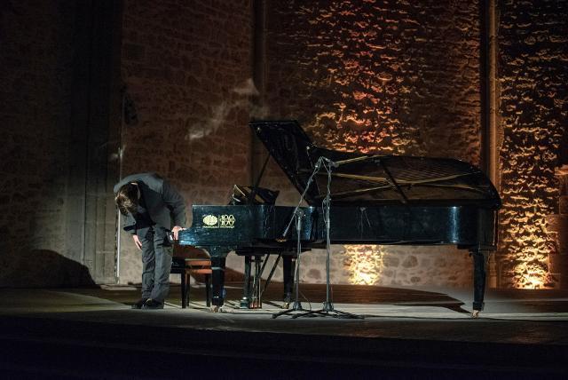 Davide Cabassi alla Chiesa di Santa Maria dello Spasimo - Piano City Palermo 2018