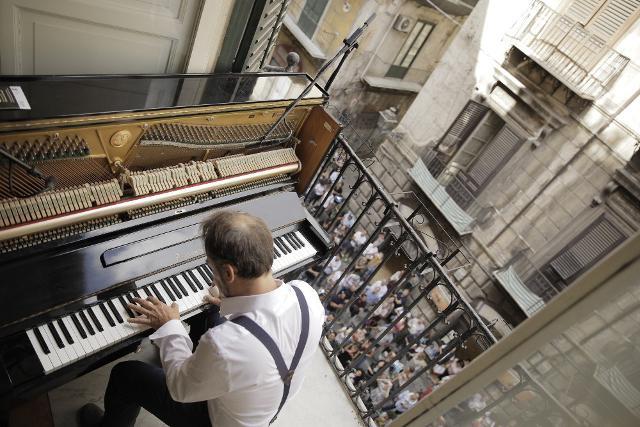 Concerto verticale di Fabrizio  Gracchi per Piano City Palermo 2018