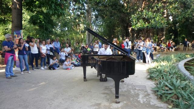 Palcoscenico di Piano City Palermo anche l'Orto Botanico