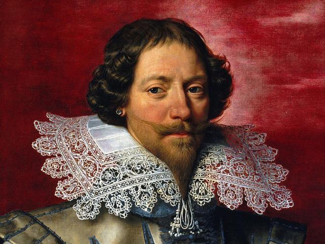 Probabile ritratto del Duca di Luynes, maestro falconiere e primo amante del giovane Luigi XIII