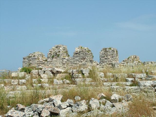 Le rovine del Castello di Eurialo