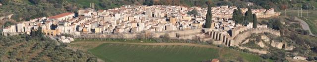 Una veduta del paese di Santa Caterina Villarmosa