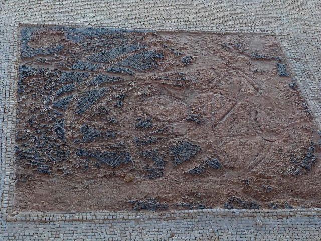 L'astrolabio (o sfera armillare) della casa di Leda a Solunto - ph Ziegler175