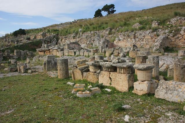 I resti della Stoa di Solunto - ph Davide Mauro