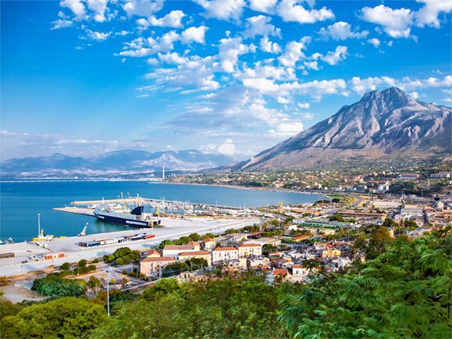 Panoramica sul Porto di Termine Imerese