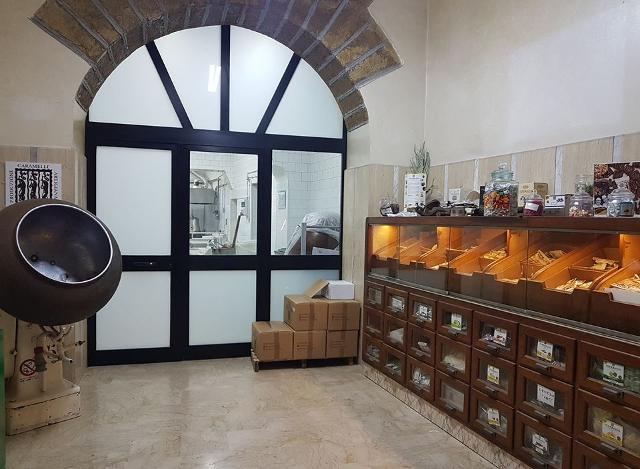 Il negozio Terranova che si trova nel cuore antico di Palermo, Ballarò