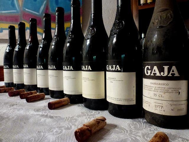 Una preziosa selezione di vini Gaja