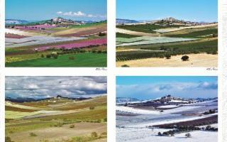 I colori della campagna nissena - Borgata Santa Rita e dintorni
