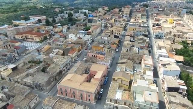 Veduta aerea di Cassaro