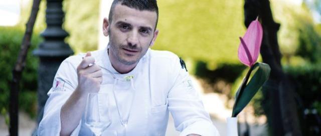 Lo chef Carmelo Trentacosti