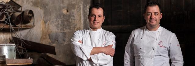Gli chef Domenico Colonnetta e Francesco Patti