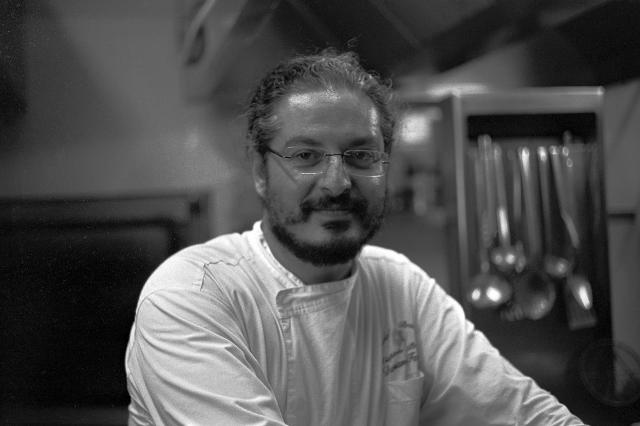 Lo chef Damano Ferraro