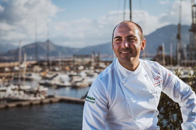 Lo chef Gioacchino Gaglio