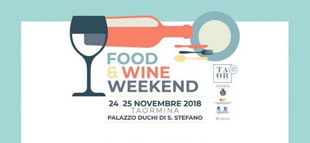A Taormina, la prima edizione del Food & Wine Weekend