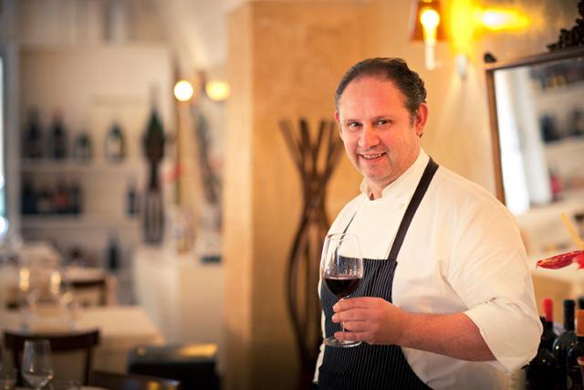 Lo chef Gaetano Basiricò