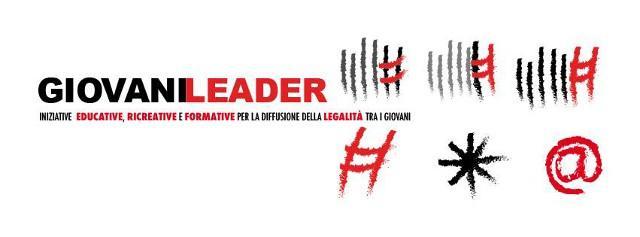 """Il progetto """"Giovani Leader"""" è finanziato dal Dipartimento della Gioventù della Presidenza del Consiglio dei Ministri e co-finanziato dall'Unione Europea - Plico n. 703 - CUP n. J75C14001510008"""