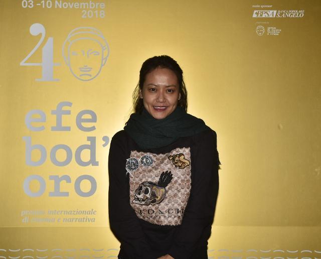 La regista vietnamita Hong Anh, vincitrice del 40° Efebo d'Oro