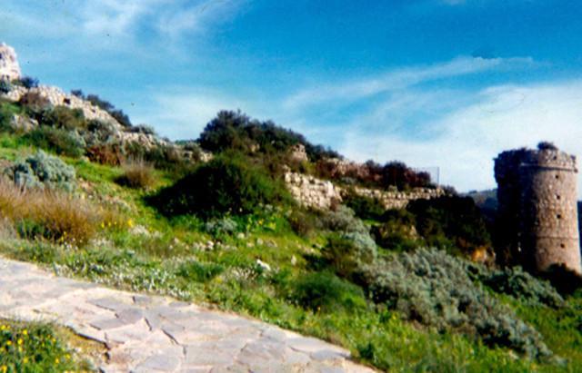 Il castello medievale Santapau, Licodia Eubea