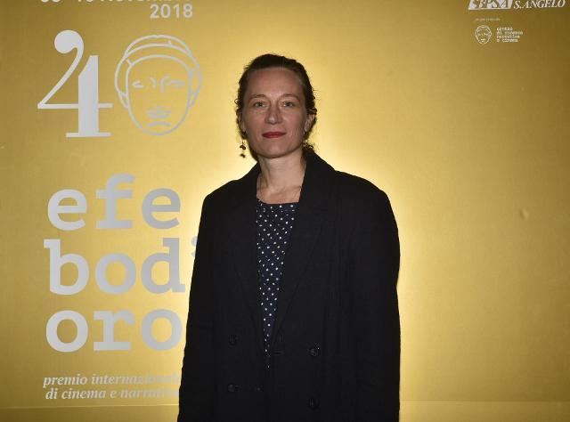 La regista francese Marine Francen che ha vinto il Premio ANDE Cinema Donna alla 40/ma edizione del Premio Efebo d'Oro