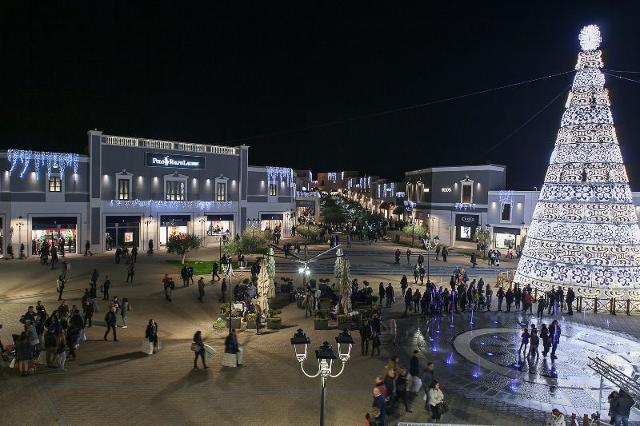 Il Sicilia Outlet Village a Natale