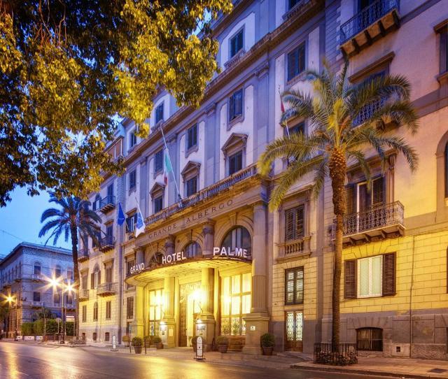 Il Grand Hotel et Des Palmes riapre a dicembre con lo chef La Mantia