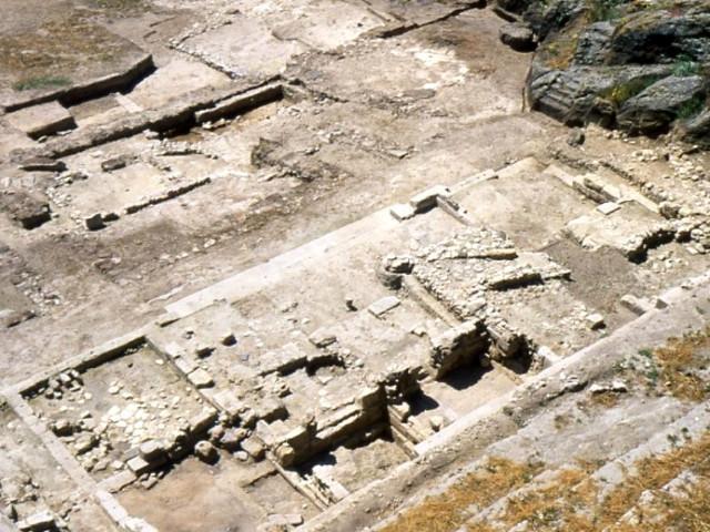La zona archeologica di Paliké