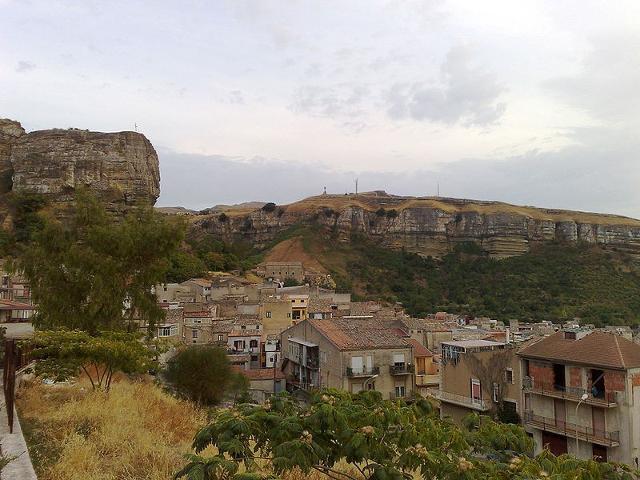 Panorama di Corleone - ph Dedda71