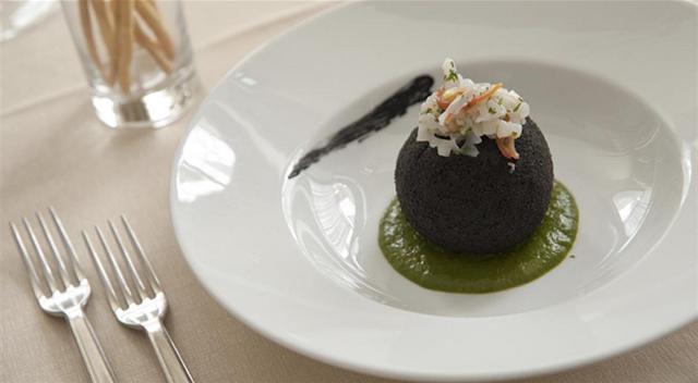 Un piatto dello chef Costa