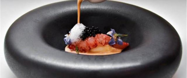 Un piatto dello chef Alessandro Ingiulla