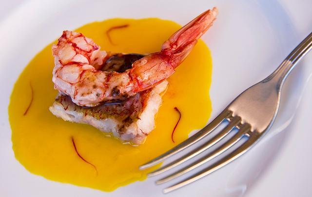 Un piatto della chef Martina Caruso