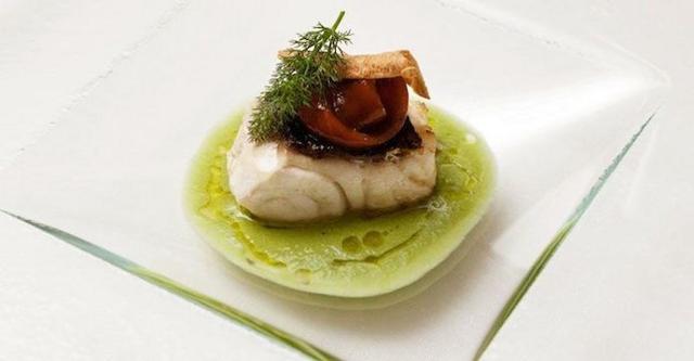 Un piatto dello chef Candiano