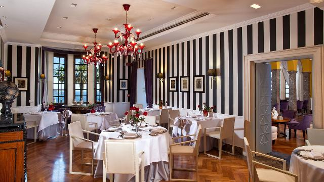 St. George Restaurant by Heinz Beck di Taormina