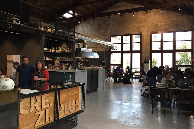 La Social Kitchen di Cre.Zi.Plus ai Cantieri Culturali alla Zisa