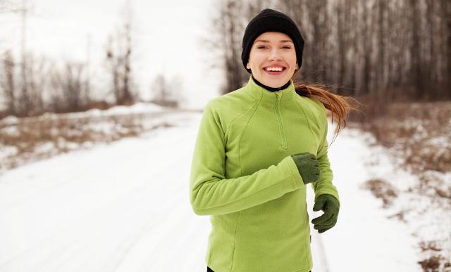 La disidratazione da esposizione al freddo può essere più significativa durante l'esercizio fisico...