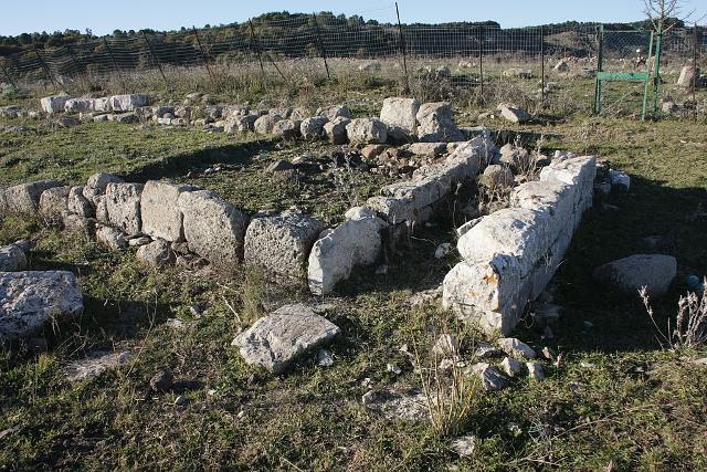 I resti del Tempio greco di Casmene - ph Davide Mauro