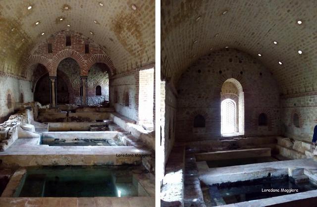 L'interno dei Bagni di Cefalà Diana - ph Loredana Maggiore