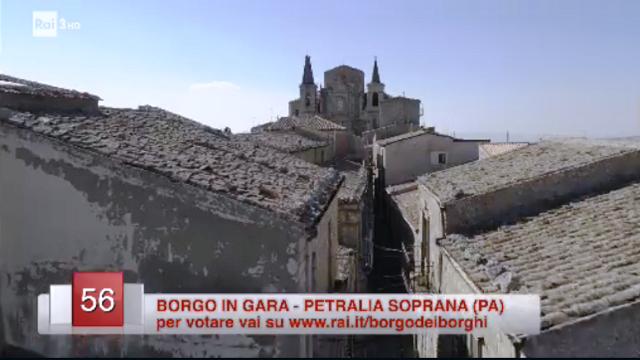 Per votare Petralia Soprana vai su www.rai.it/borgodeiborghi