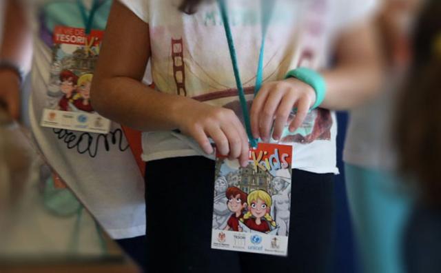 Tantissimi i piccoli visitatori del Festival Kids, manifestazione dentro la manifestazione Le Vie dei Tesori