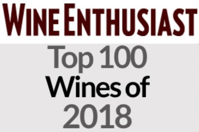 """""""Top 100 Wines of 2018"""" di Wine Enthusiast"""
