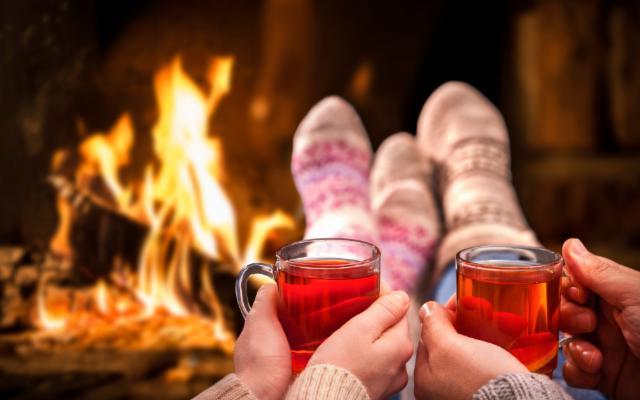 Viene l'inverno e con esso la voglia di coccolarsi, meditando...