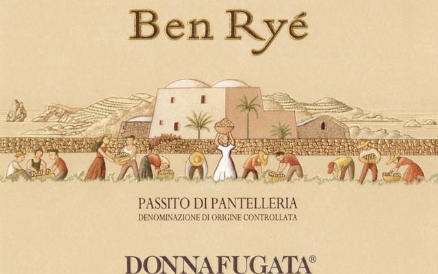 Premio ''Miglior Vino d'Italia'' al Ben Ryé 2017 Donnafugata